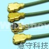 IPEX 3 W.FL Coaxial Connector, Coaxial Cable